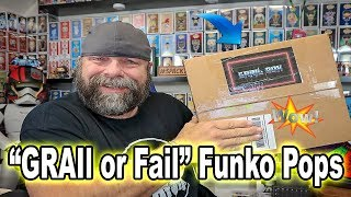 GRAIl or Fail Funko Pops | The Grail Box Mystery Box
