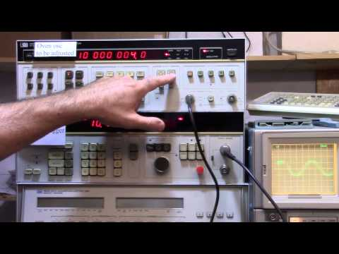 Freq Calibration For Test Equipment  IE Blog