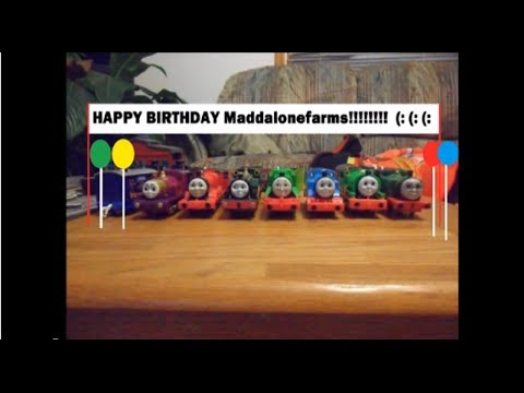 The Thomas The Tank Engine Show Ep 4 HAPPY BIRTHDAY Maddalonefarms