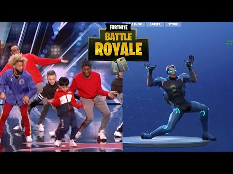 Fortnite Viral Dance On Americas Got Talent 2018