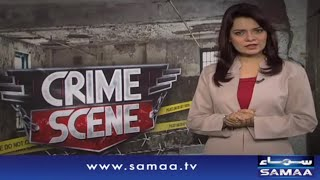 Khawateen ka jhagra mardon ki halakat, Crime Scene, 18 August 2015 Samaa TV