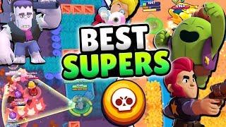 THE BEST u0026 WORST BRAWLER SUPERS IN BRAWL STARS!