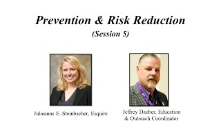 Alzheimer's Planning Session 5 – Prevention & Risk Reduction