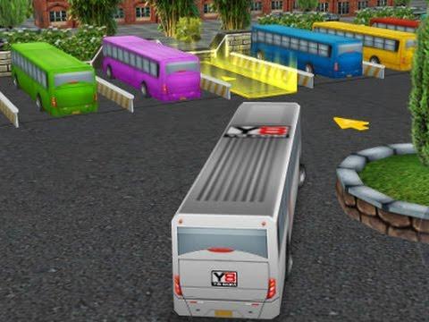 Bus Parking 3D World Game Gameplay Full Walkthrough
