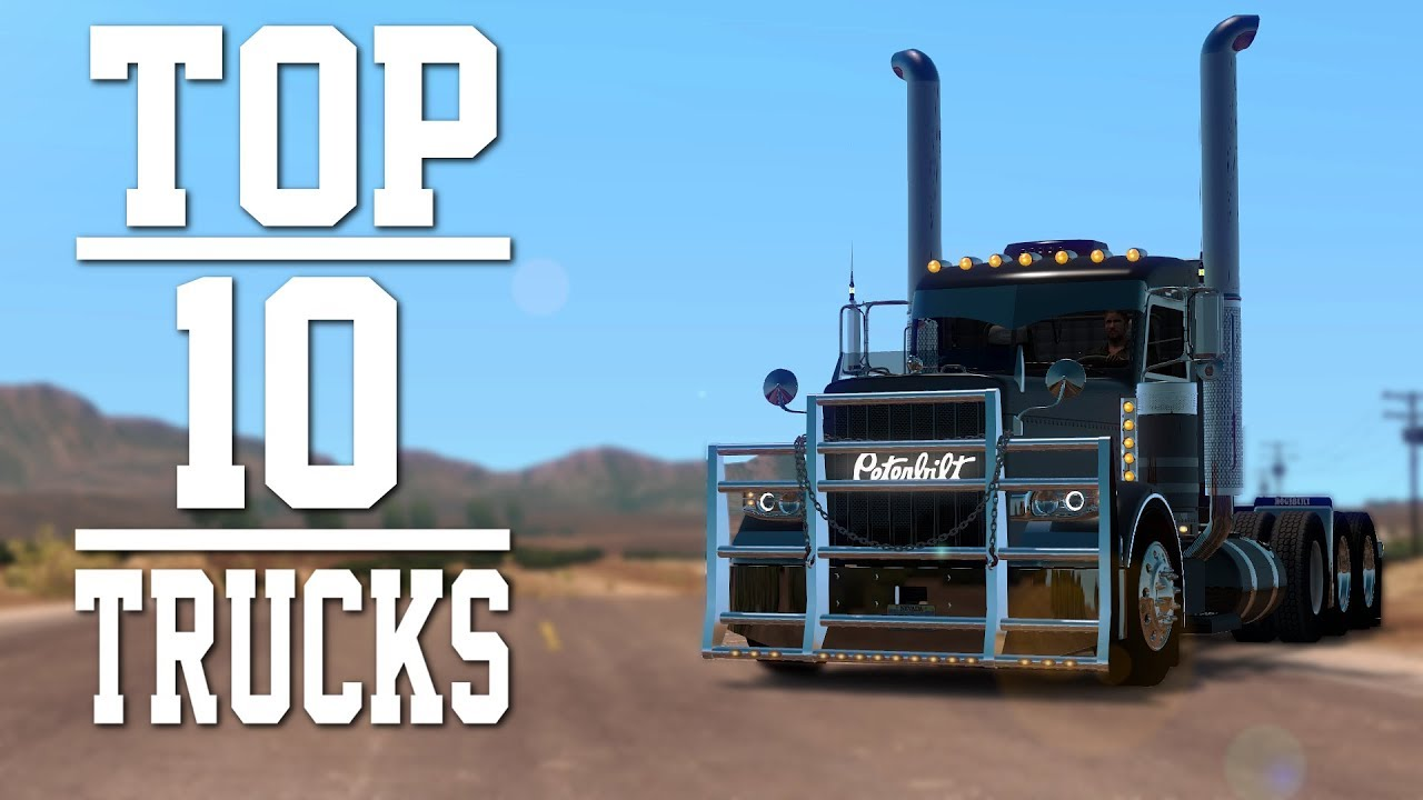 top 10 trucks mods for american truck simulator 2018. Black Bedroom Furniture Sets. Home Design Ideas