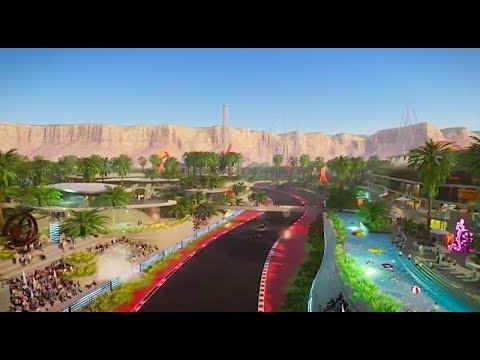 Qiddiya masterplan   Saudi giga project