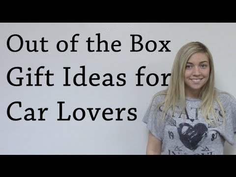 outside the box gift ideas for car lovers youtube. Black Bedroom Furniture Sets. Home Design Ideas