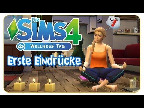 Die Sims 4: Wellness Tag Gameplaypack - Erste Eindrücke (CAS, Gameplay: Yoga, Meditation & more)