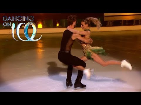 Olympic Champs Gabriella Papadakis and Guillaume Cizeron Take to the Ice | Dancing On Ice 2018