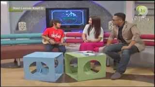 Tegar @ Nasi Lemak Kopi O TV9 Malaysia 21/09/13