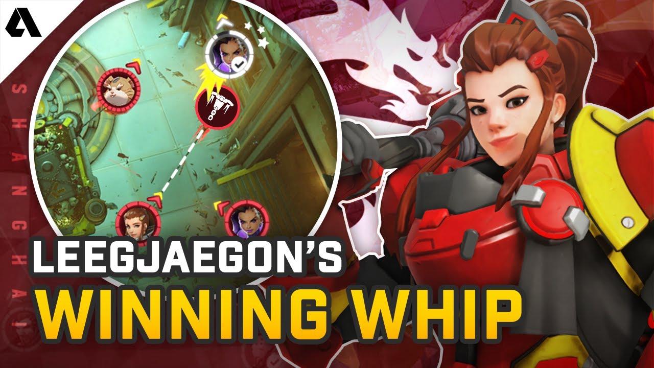 LeeJaeGon's Winning Whip Shot - Pro Overwatch Micro Plays