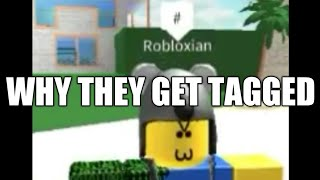 The Reason Why Numbers Get Tagged | ROBLOX