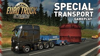 🔴► AO VIVO Euro Truck Simulator 2 - Special Transport Gameplay