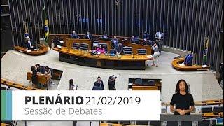 Plenário - Plenário - Sessão Não Deliberativa de Debates - 21/02/2019 14:00