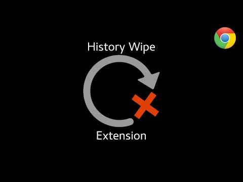 Auto History Wipe   Chrome Guide