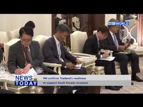 PM confirms Thailand's readiness to support South Korean investors