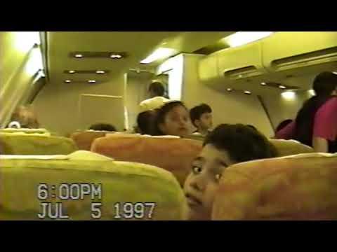 VOO VARIG RG303 MAO-FOR JULHO DE 1997
