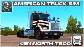 Kenworth T800 - Mod Review (American Truck Simulator)