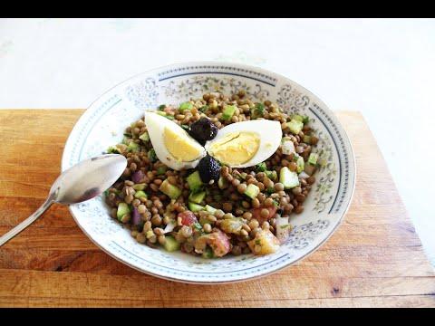 salade-de-lentilles---سلطة-العدس