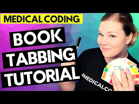 MEDICAL CODING BOOK TABBING FOR CPC EXAM - Tutorial for tabbing CPT and ICD-10-CM manuals
