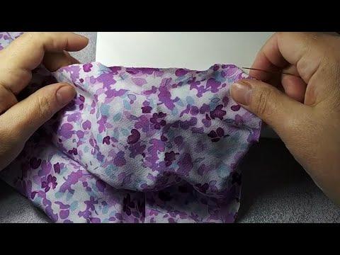 DIY. Швейный лайфхак. Как присборить ткань
