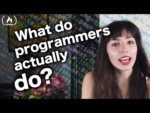 What do computer programmers actually do?