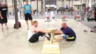 MAS Wrestling - Chad vs John, Round 2