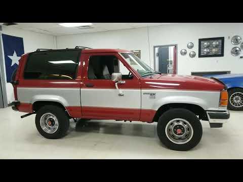 1990 Ford Bronco II walkaround