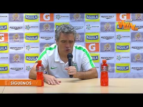 Rueda de prensa de Juan Manuel Lillo tras la derrota de Nacional con Tigres