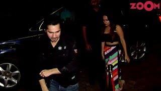 Varun Dhawan LEAVES Girlfriend Inside Before Posing For Pictures Outside Dinesh Vijan's Birthday