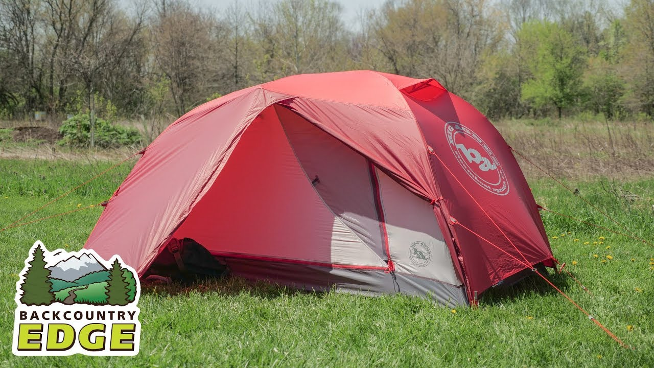 Big Agnes Copper Spur HV 2 Expedition 4-Season Tent - YouTube 46aa46f1ab95