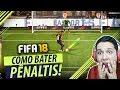 FIFA 18 - COMO BATER PÊNALTIS!!! VOCÊ NUNCA VAI ERRAR!! (TUTORIAL) 🔥