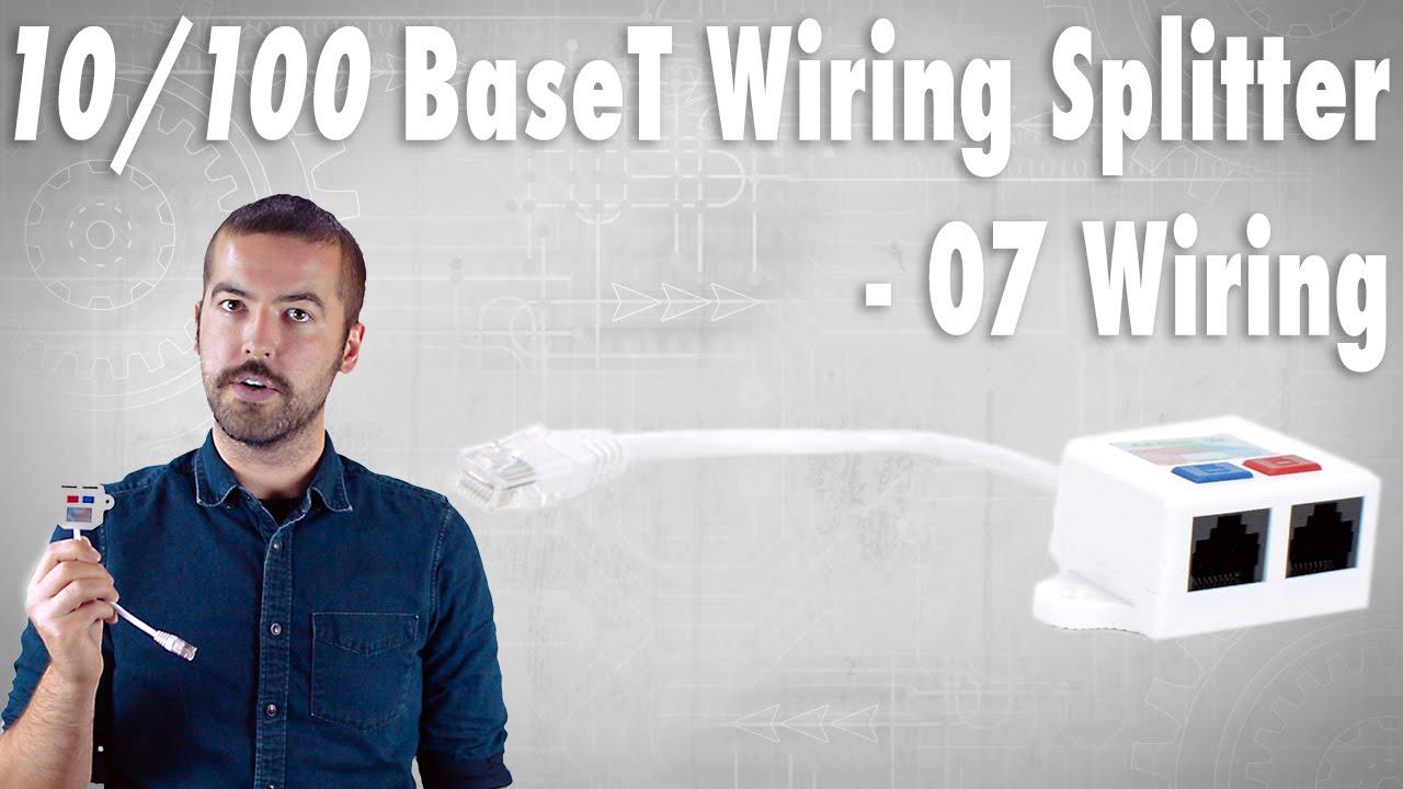 10/100 BaseT Wiring Splitter (07 Wiring) - How Does It Work? - YouTube