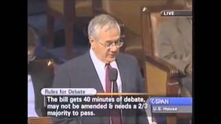 Barney Frank : Lack Of Regulation Caused Financial Crisis