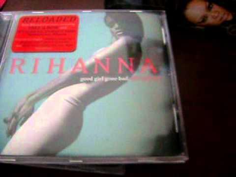 Rihanna 3 CD Collectors Set Box Unboxing