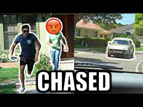 Thumbnail: DING DONG DITCH AND PEE PRANK! *EPIC CAR CHASE* BTS