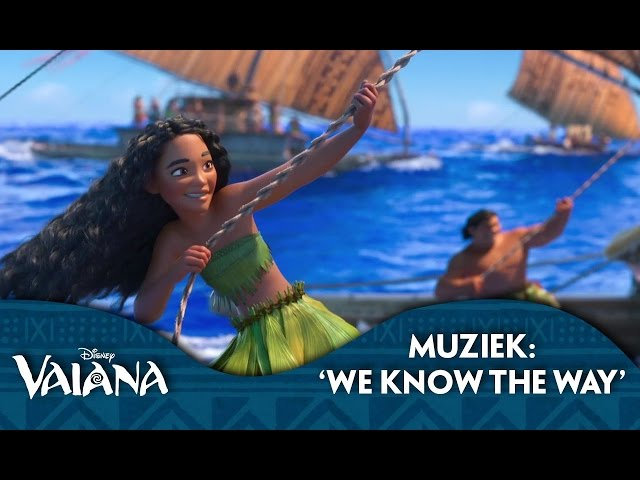 Disney Vaiana - Muziek: 'We Know The Way'
