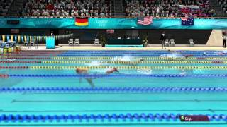 London 2012 The Official Video Game of the Olympic Games Aquatic Gameplay [ PC HD ]