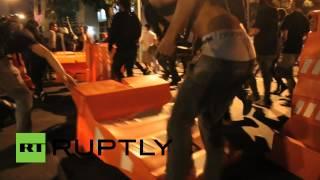 Пир во время чумы: сотни жителей Рио-де-Жанейро протестуют против ЧМ по футболу