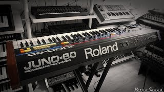 Roland Juno-60 Analog Synthesizer (1982) *Timeless Synth*