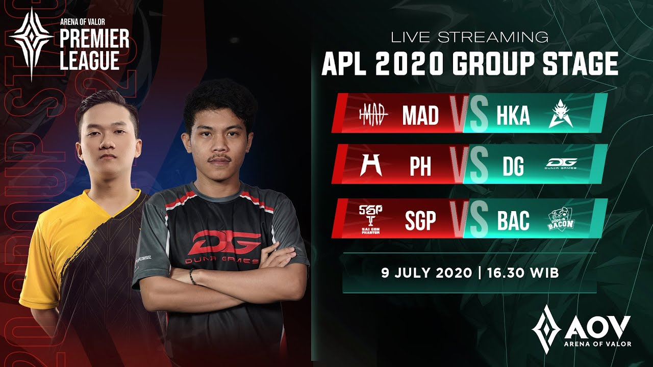 Saigon Phantom vs Pops Bacon Time  - Group A - APL 2020
