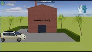 Design of software company.