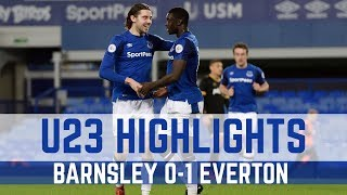 U23 HIGHLIGHTS: BARNSLEY 0-1 EVERTON