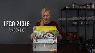 LEGO Flintstones 21316 Unboxing Deutsch 2019