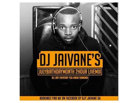 AMAPIANO 2018(House Music )Dj Jaivane s JulyBirthdayMonth 2018 2Hour LiveMix