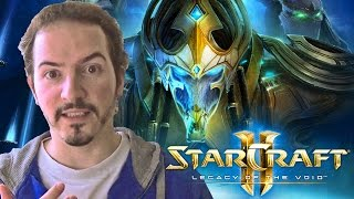 STARCRAFT 2: LEGACY OF THE VOID - Cinematic Trailer REACTION & REVIEW