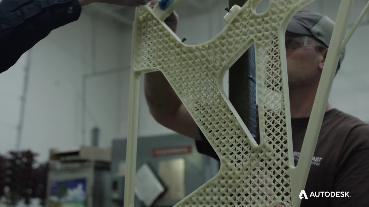 Optimizing Airplane Parts with Generative Design