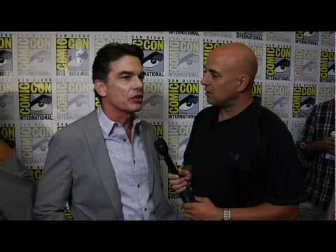 Peter Gallagher interview for Covert Affairs by Chuck the Movieguy