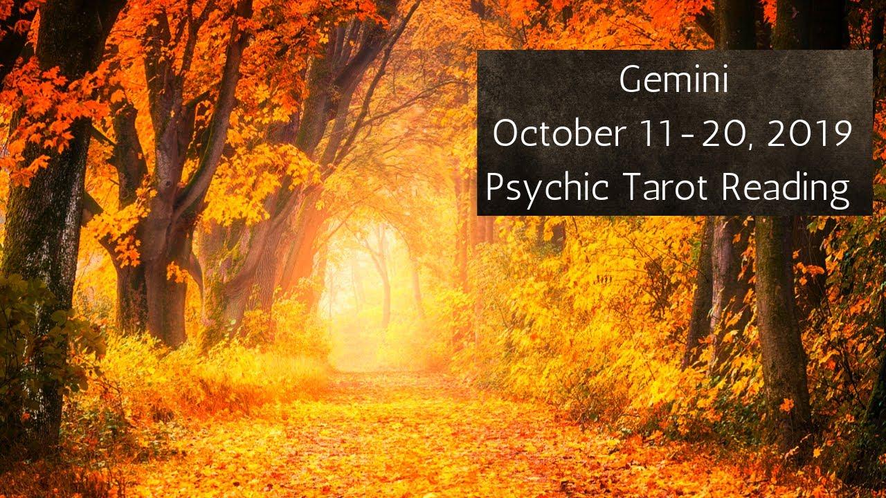 gemini tarot october 20 2019