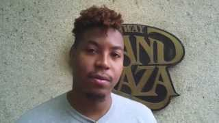 Trumpet tip,  Christian Scott gives extremely valuable advice